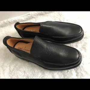 New MARTIN DINGMAN Black Leather Oxfords Men's 13